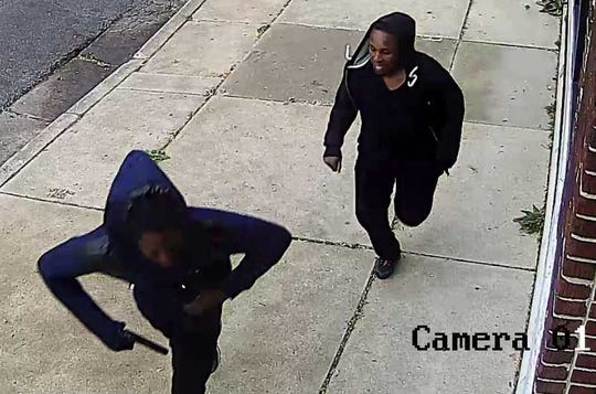 Milwaukee police are seeking three suspects in the armed robbery of a Riverwest business.