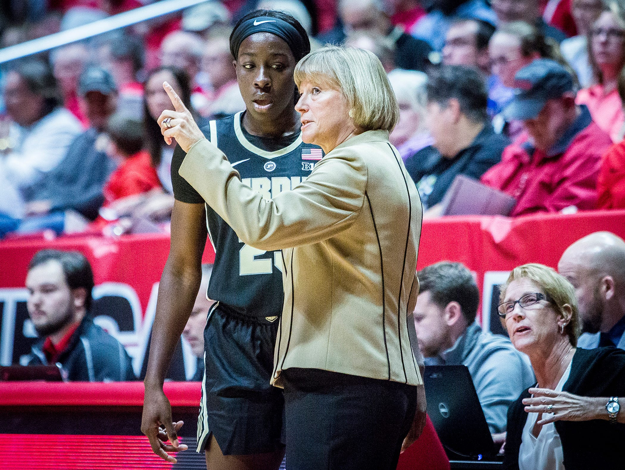 Ball State faces off against Purdue at Worthen Arena Wednesday, Nov. 7, 2018.