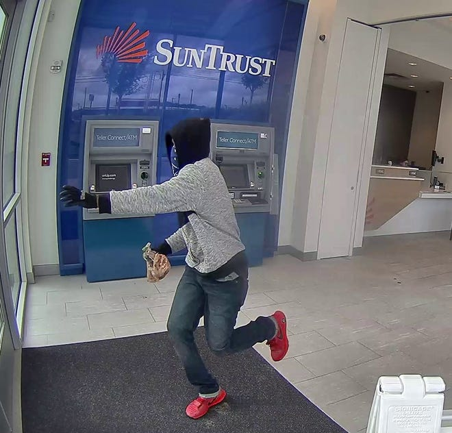 Brentwood police and the FBI are still trying to identify this man who robbed a SunTrust Bank on Nov. 1.