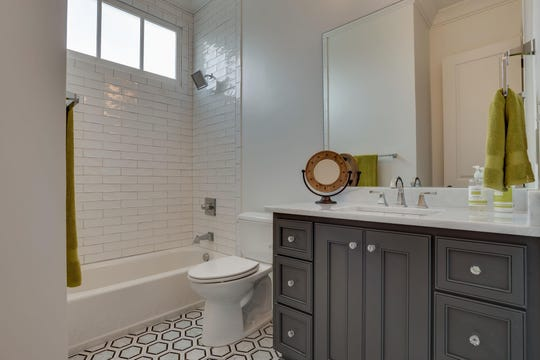 Southern Land Company architects are listening to requests of homebuyers and adding features to their homes such as additional natural light as shown in this bathroom.