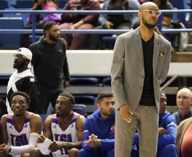 """Brian """"Penny"""" Collins will lead Tennessee State against host Lipscomb Saturday in his debut as the Tigers' coach."""