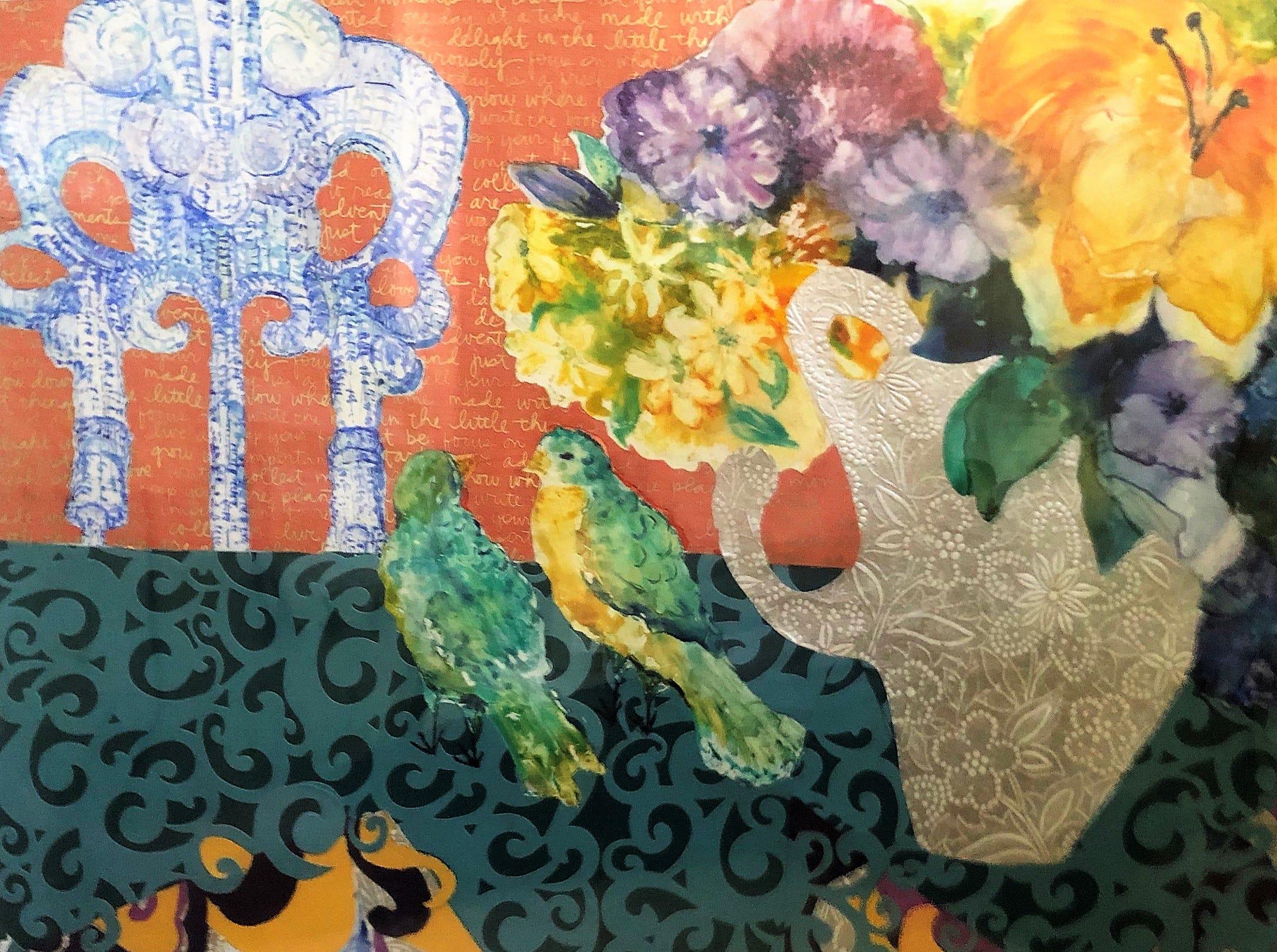 Work by Cheryl Sachs in La Petite Gallerie