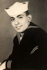 John Gentile when he was in the Navy