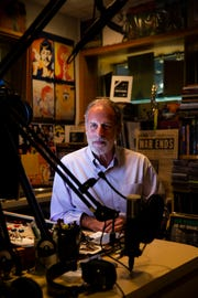 David Luckin sits in his studio at WJCT Public Broadcasting in Jacksonville, Fla., on Tuesday, June 26, 2018. Luckin's brother Malcolm died while in the care of Palm Garden Health and Rehabilitation Center in August 2014.