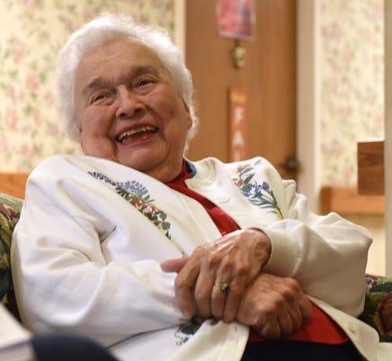 Veteran Idabell Koontz