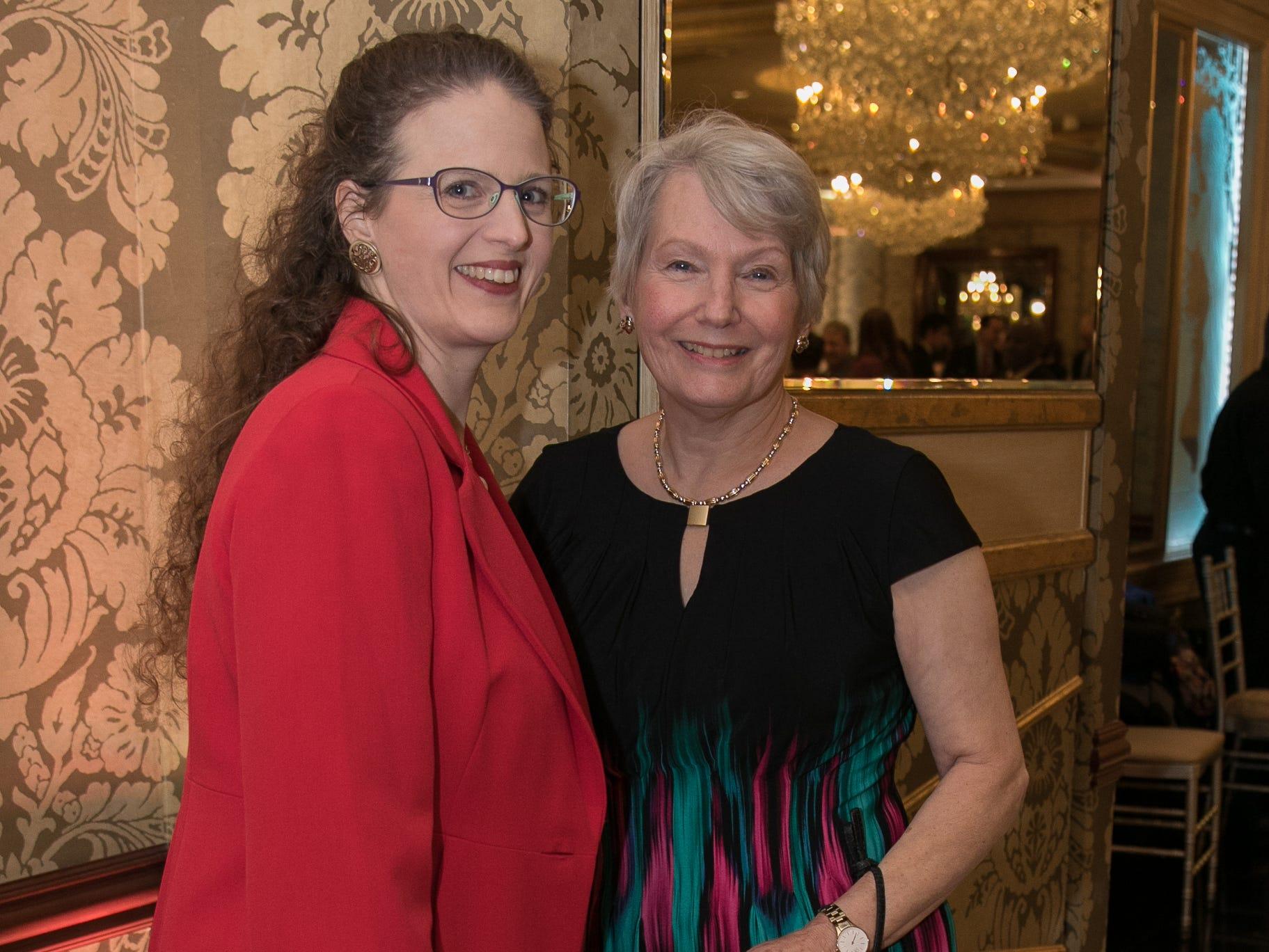 Anastasia Swope, Joan Hickey. Youth Consultation Service – YCS held their 100th Anniversary Celebration at Seasons in Washington Township.11/5/2018