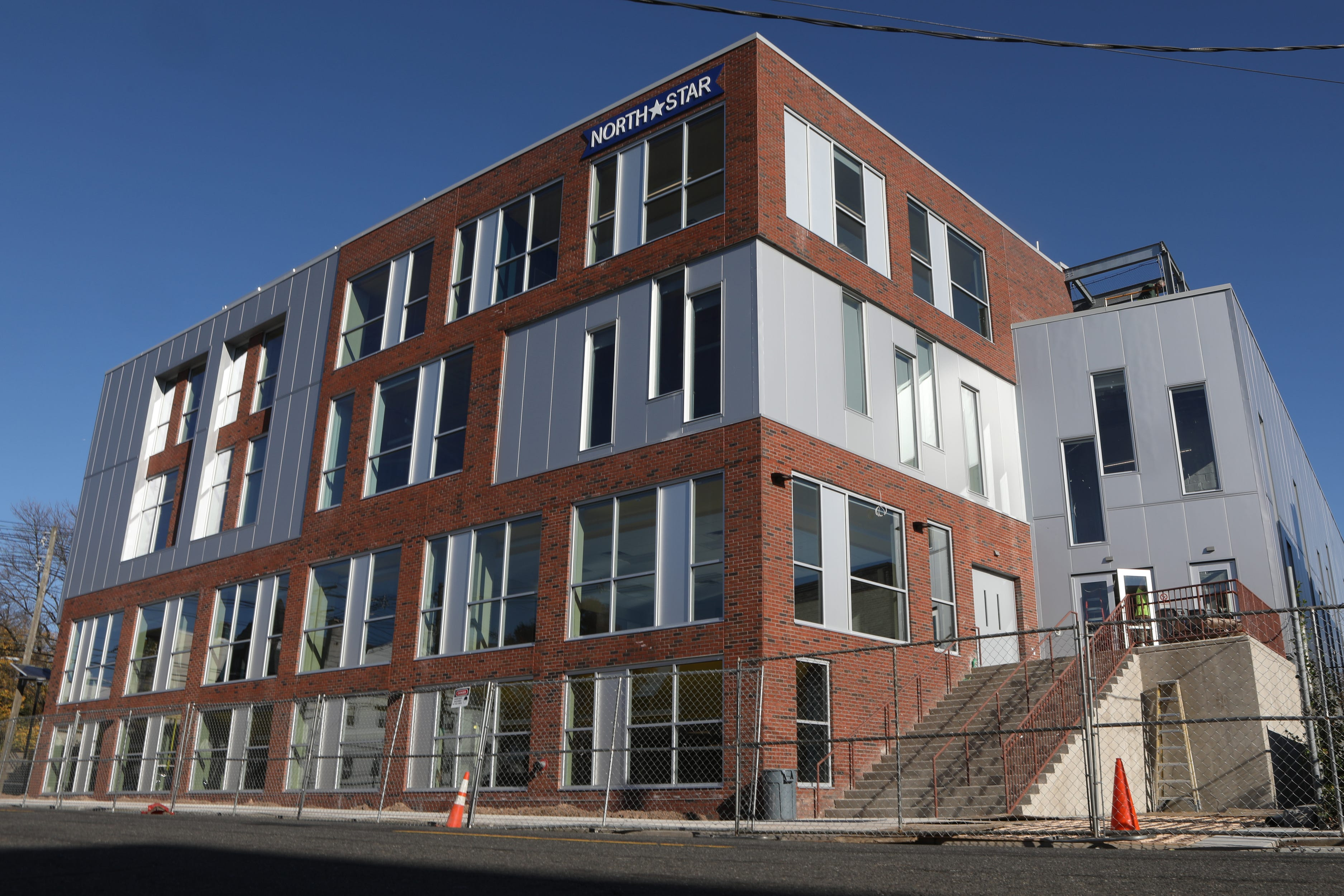 Uncommon Schools' newest North Star Academy facility, located at 571-585 18th Ave. in Newark, included the renovation of a building and the construction of a large addition. It opened in November 2018.