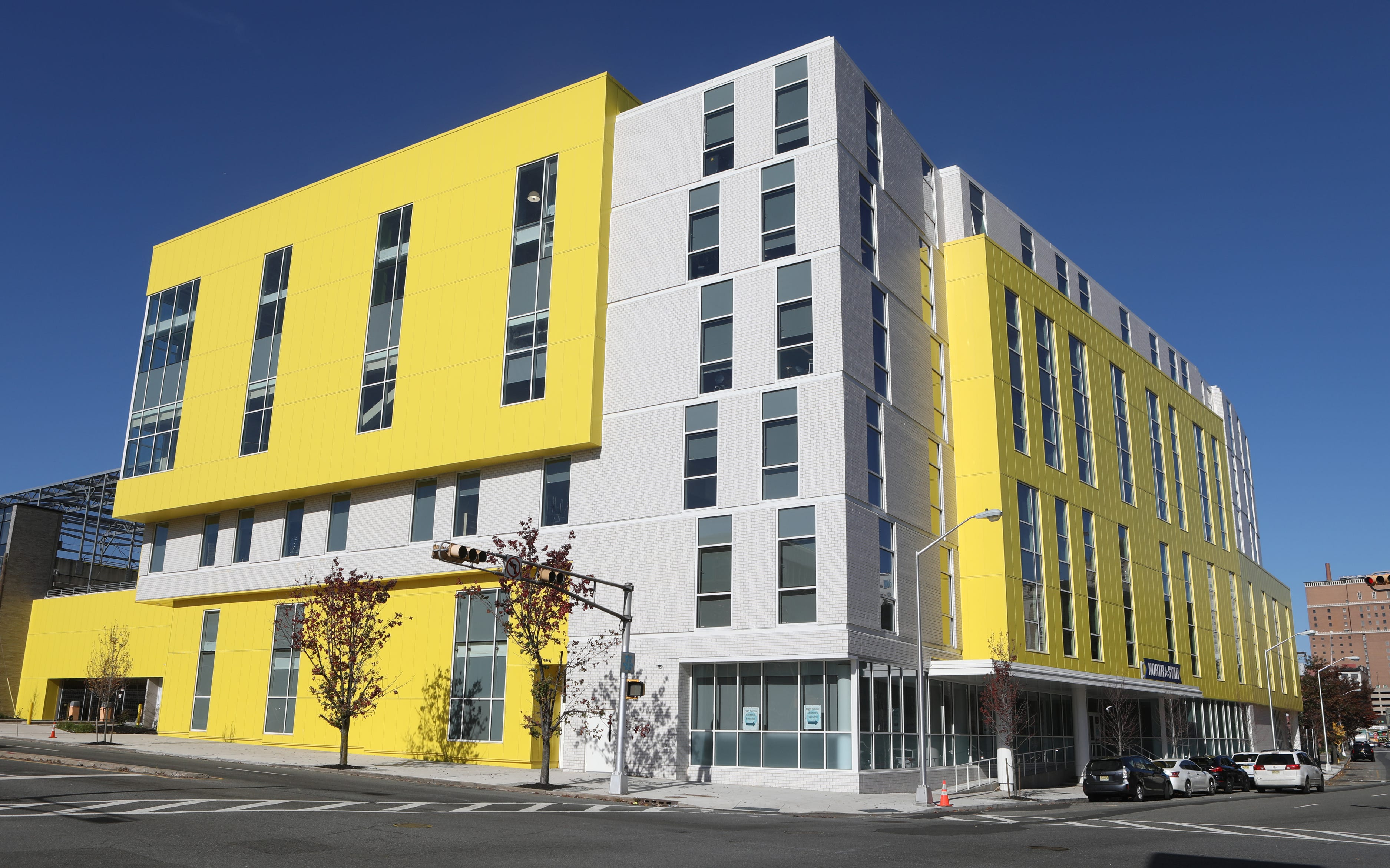 This six-story building, located at 377 Washington St. in Newark, is one of North Star Academy's newest buildings.