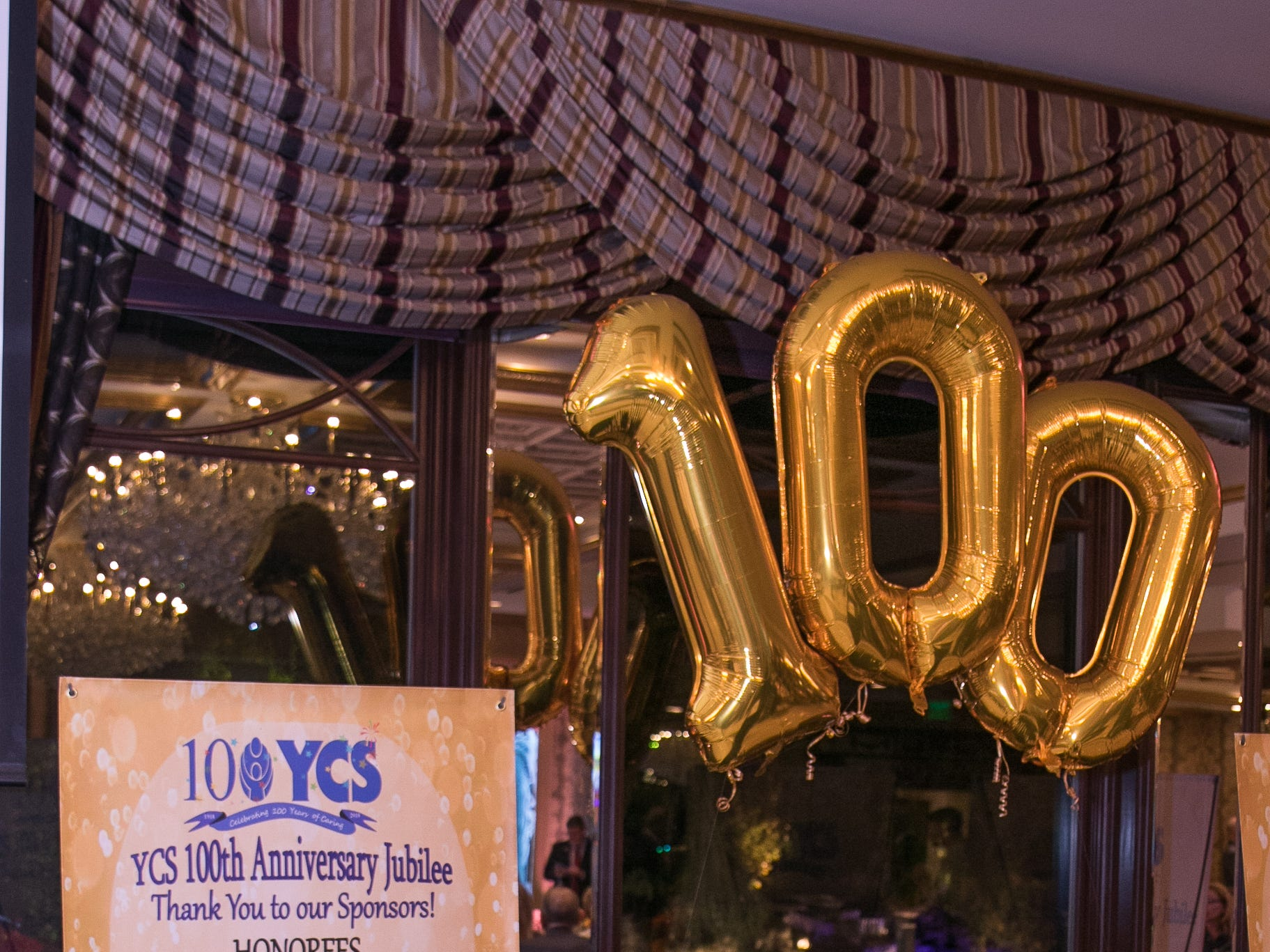 Youth Consultation Service – YCS held their 100th Anniversary Celebration at Seasons in Washington Township.11/5/2018