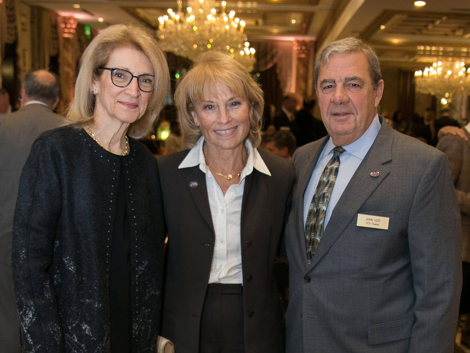 Ellen Jacobs, Faye Samuels, John Uzzi. Youth Consultation Service – YCS held their 100th Anniversary Celebration at Seasons in Washington Township.11/5/2018