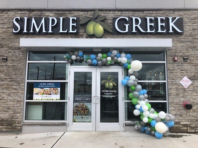 The Simple Greek celebrated its grand opening in late October.