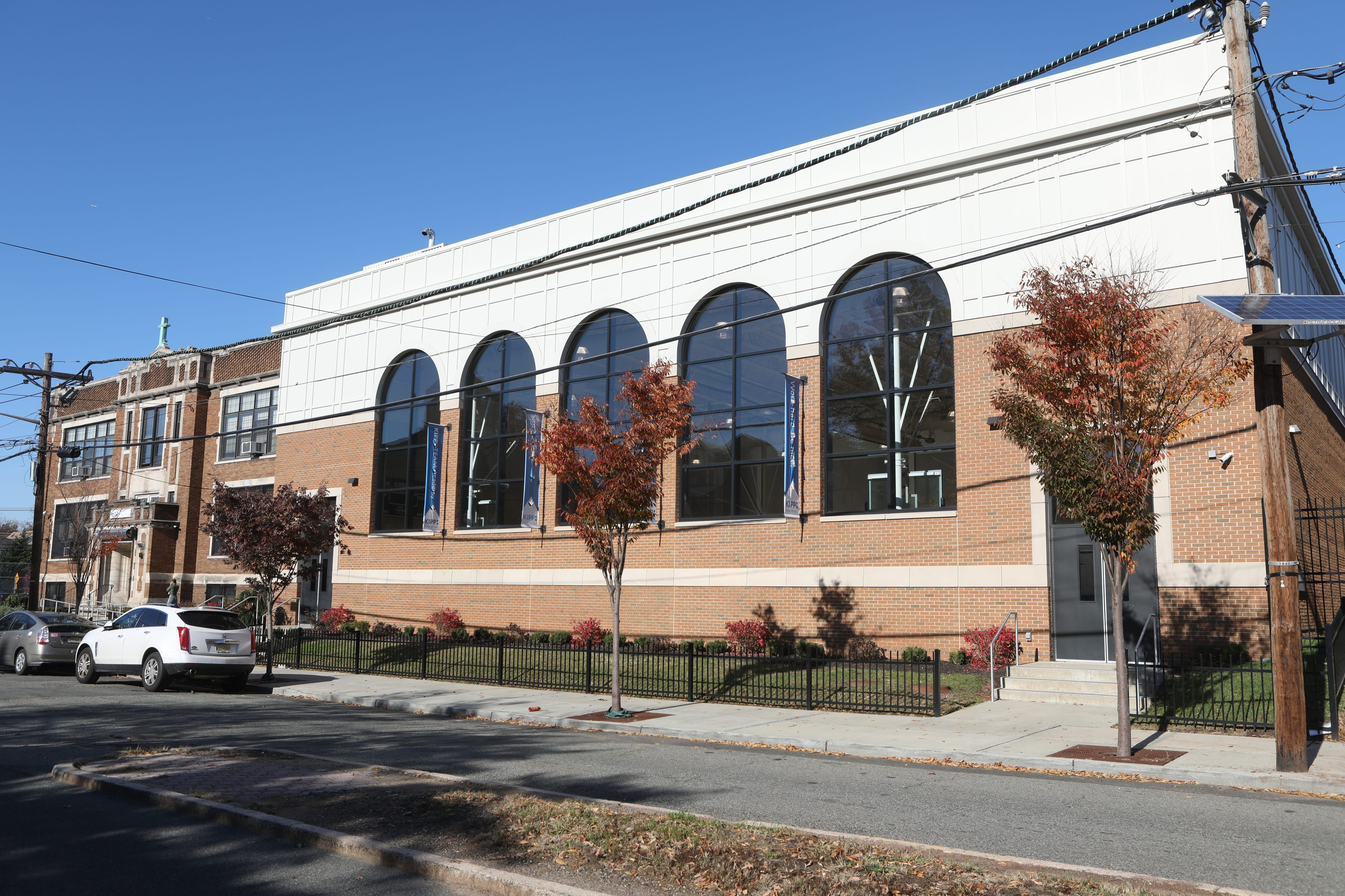 KIPP New Jersey's TEAM Academy occupies 85 Custer Ave. in Newark where a gym was added to the building.