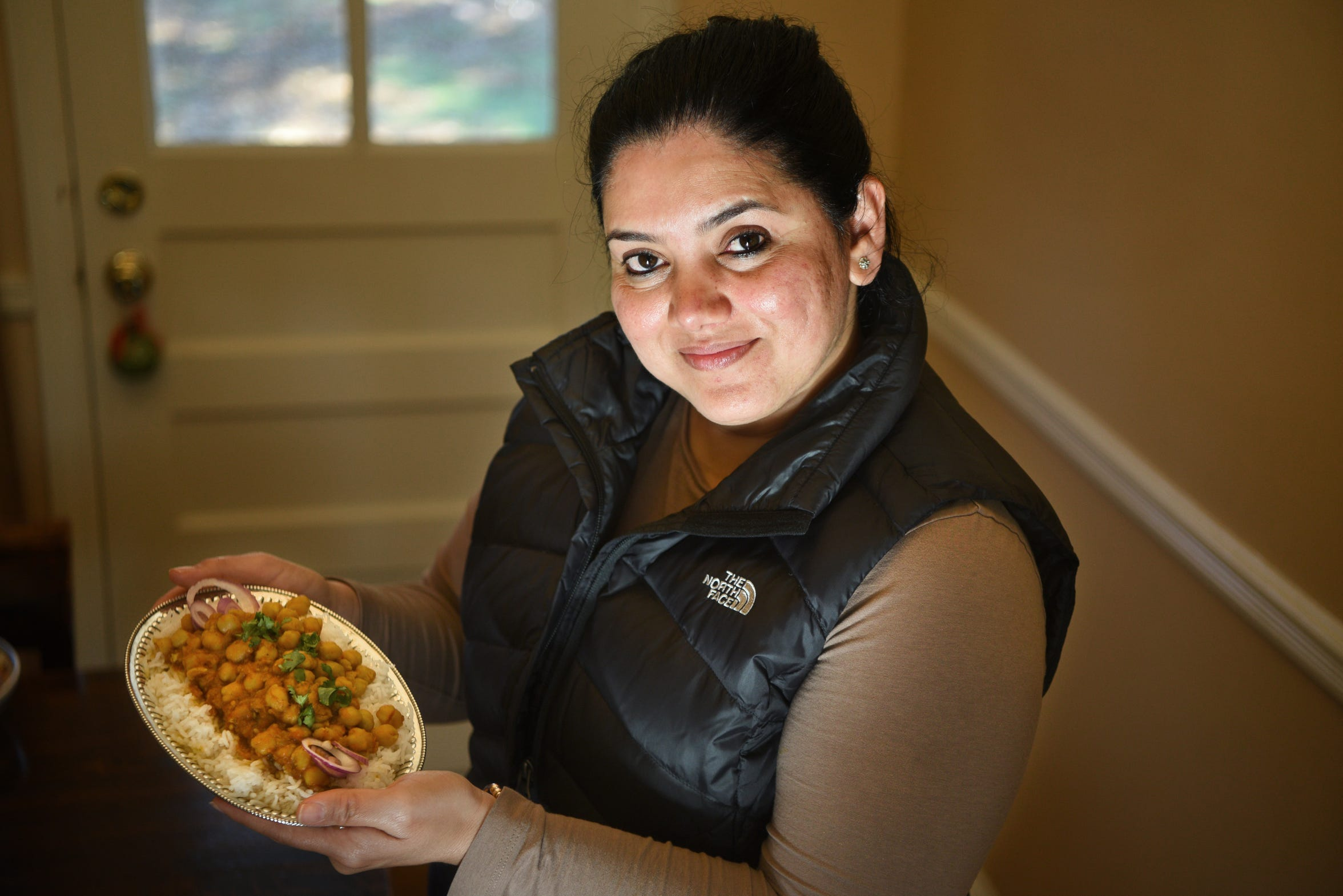 "Ritu Chowbey makes Choley ""Chana"" Masala for Thanksgiving every year."