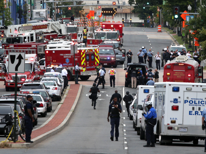 Washington Navy Yard   Washington, D.C.   Sept. 16, 2013  13 dead   8 wounded