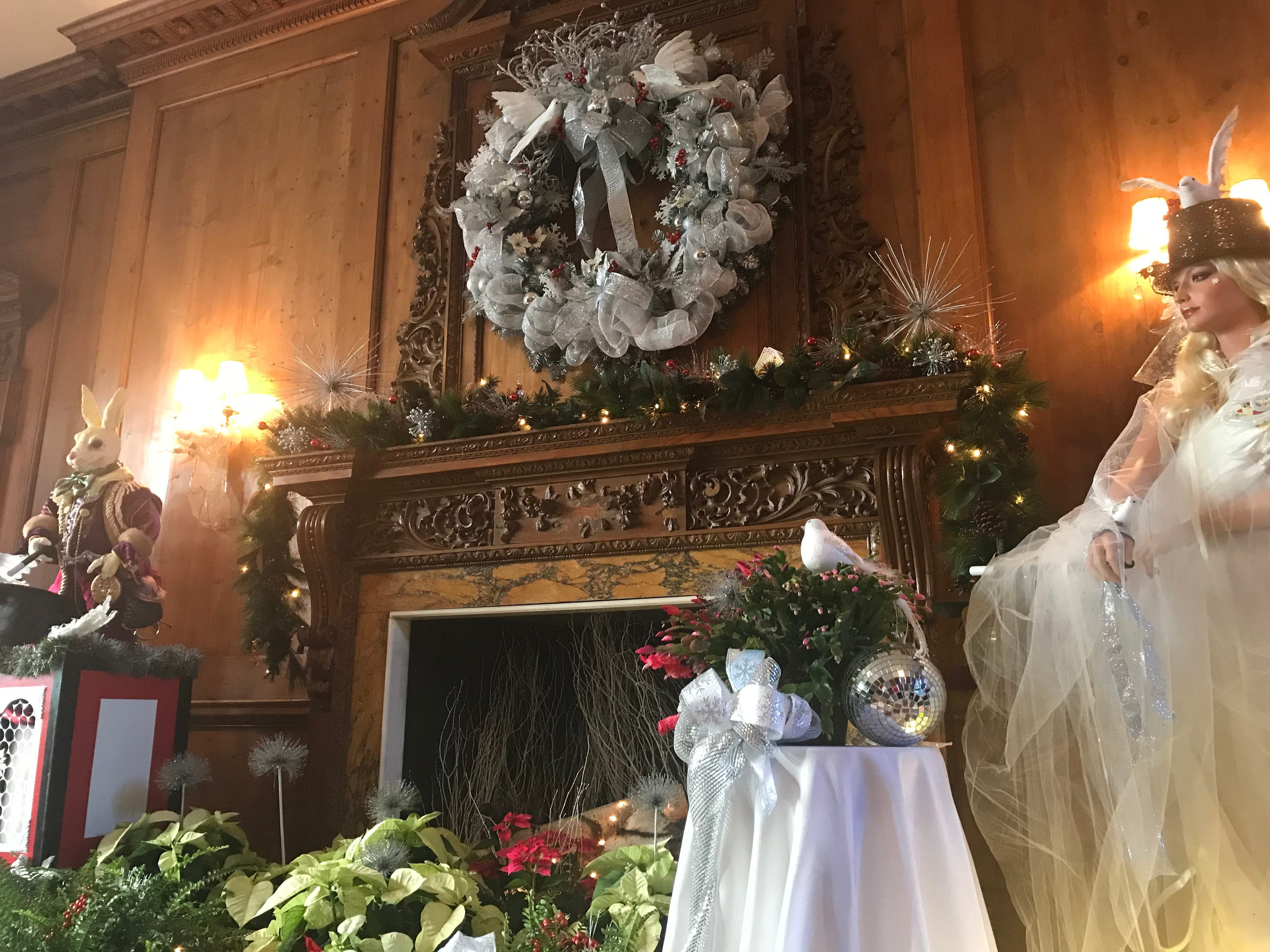 The Skylands Manor holiday open house at the New Jersey State Botanical Garden in Ringwood, as seen on Dec. 1, 2017, returns Nov. 29, 2018.