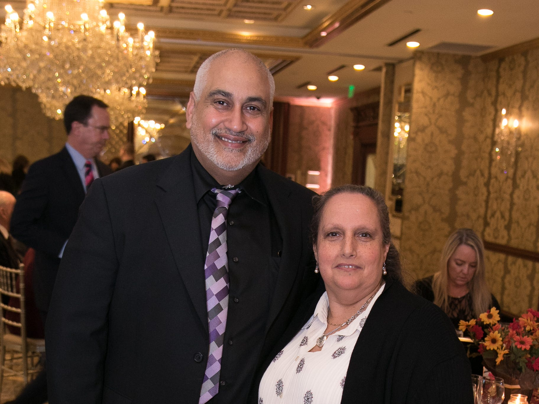 Pete Hernandez, MaryAnn Descartino. Youth Consultation Service – YCS held their 100th Anniversary Celebration at Seasons in Washington Township.11/5/2018