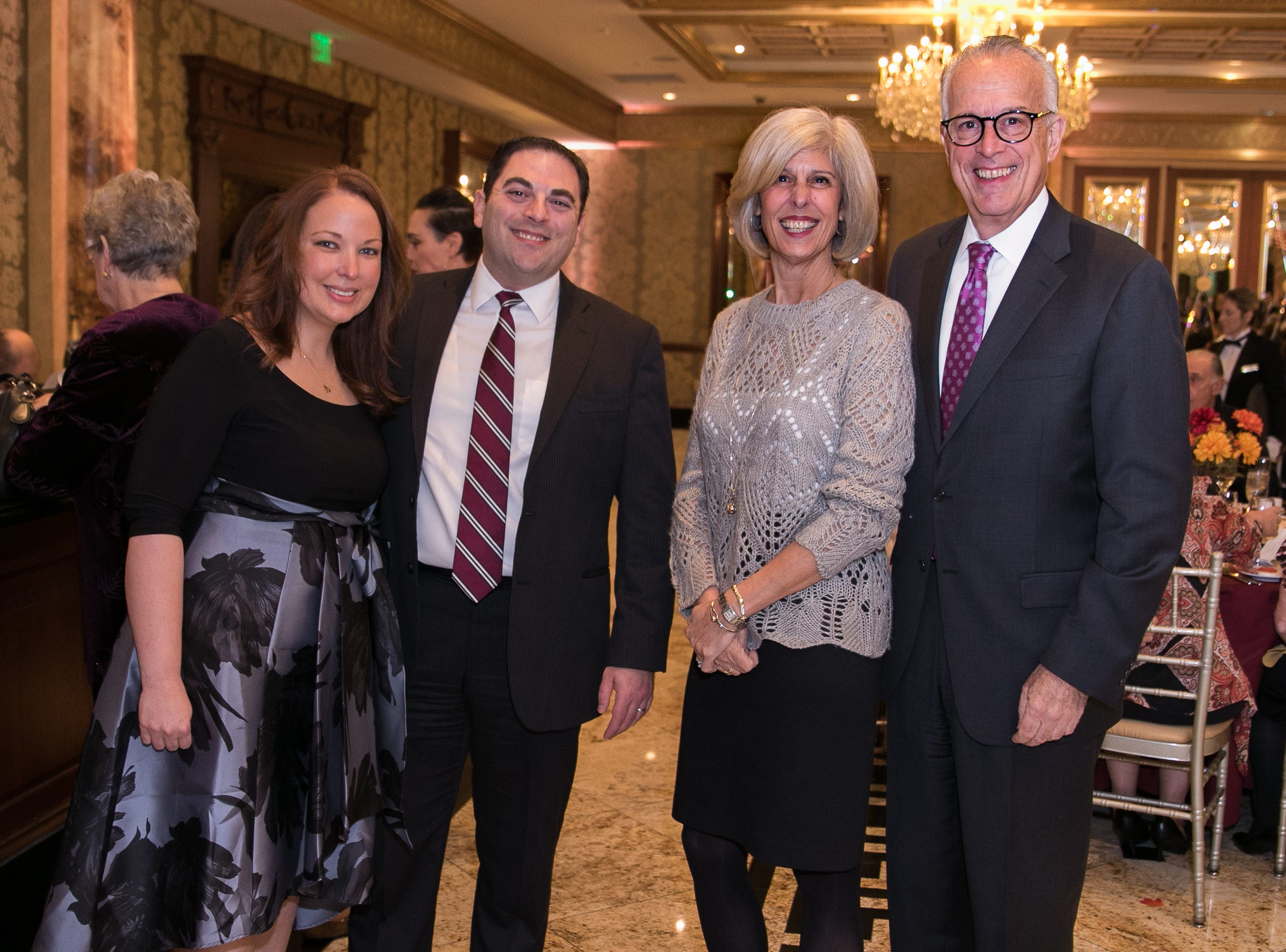 Alyson and Larry Sannicandro, Jody and Michael Guariglia. Youth Consultation Service – YCS held their 100th Anniversary Celebration at Seasons in Washington Township.11/5/2018