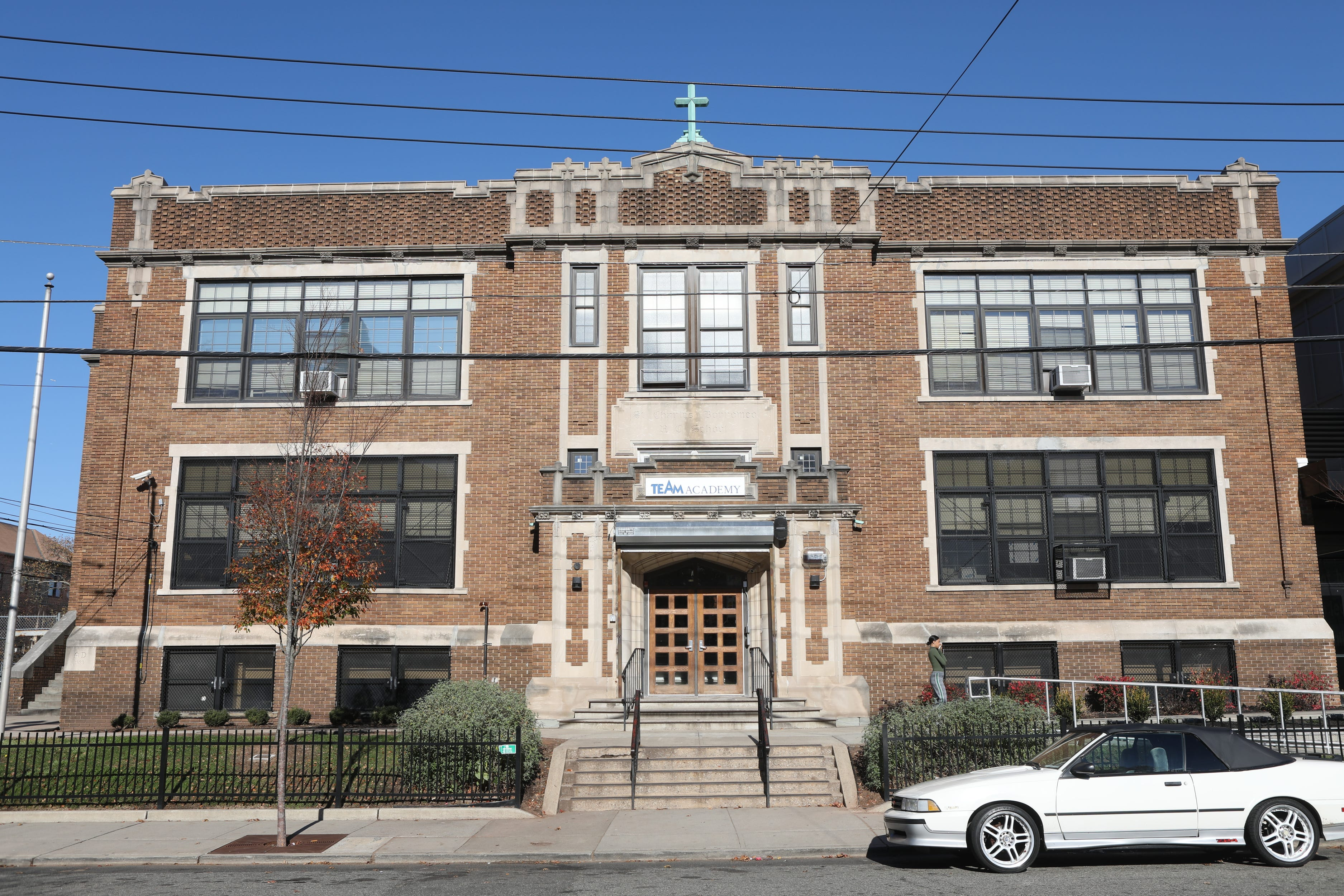 The KIPP TEAM Academy building at 85 Custer Ave. in Newark was sold between support groups.
