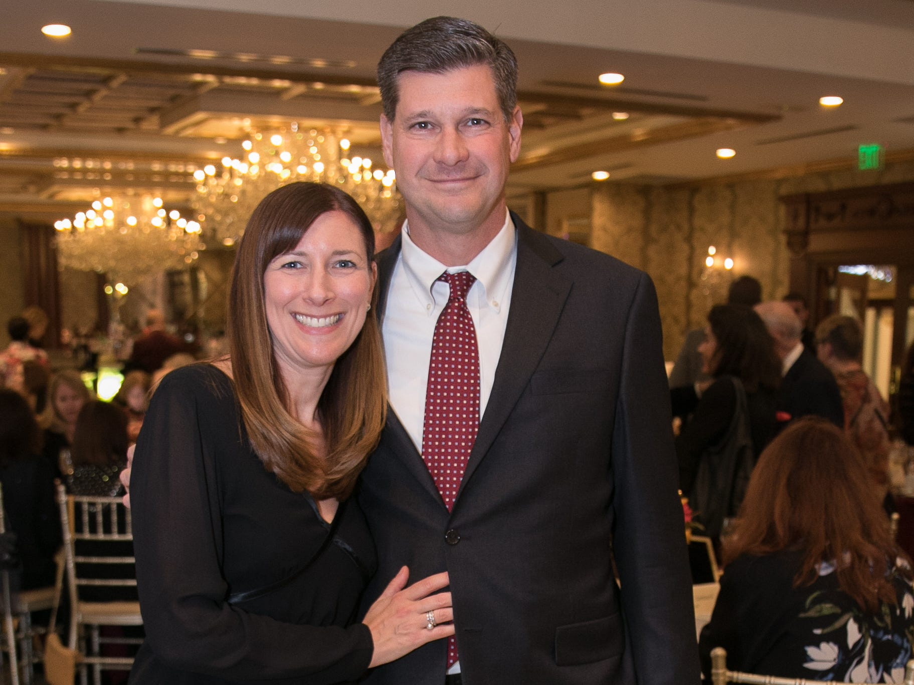 Honorees Rebecca Petri, John Ehresman. Youth Consultation Service – YCS held their 100th Anniversary Celebration at Seasons in Washington Township.11/5/2018