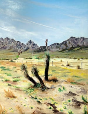 """Yucca"" painting by Paul Maxwell"