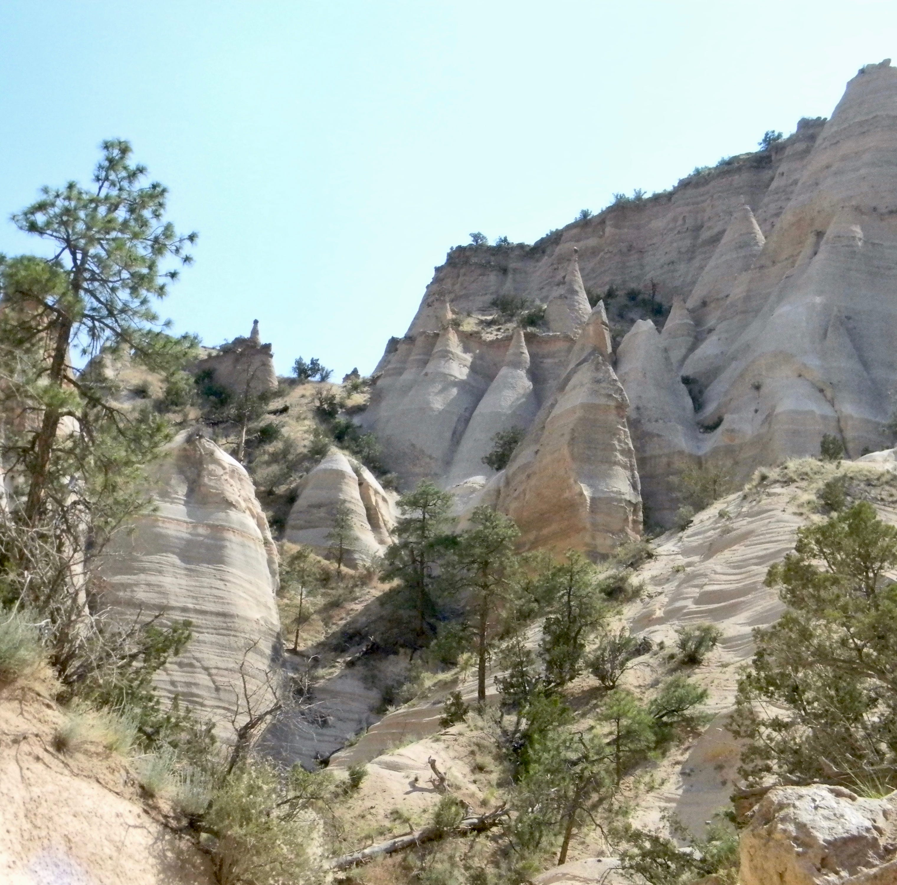 Kasha-Katuwe Tent Rocks a whimsy of nature