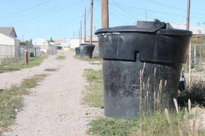 Alamogordo's garbage collection rates will go up starting on Jan. 1, but only by around 2 percent.