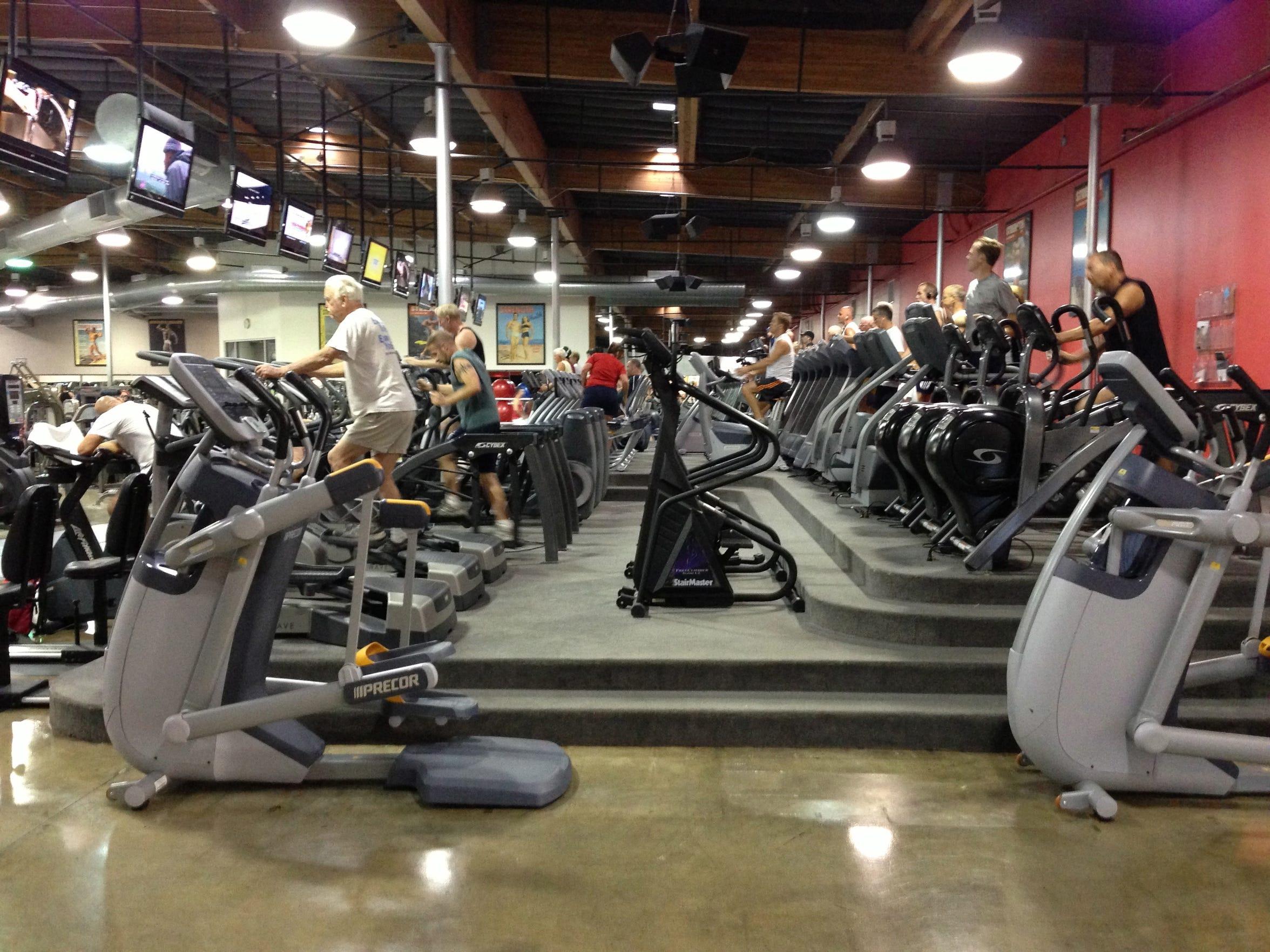 Best Gym: World Gym Palm Springs