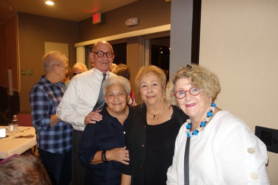 (L) Howard Packer, Pam Genevrino and Mizell Executive Director Ginny Foat, and Eileen Packer.