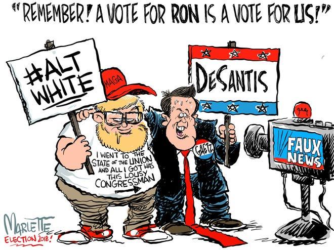 Congressman Matt Gaetz offers an Election Day message of support for Florida Governor-elect Ron DeSantis.