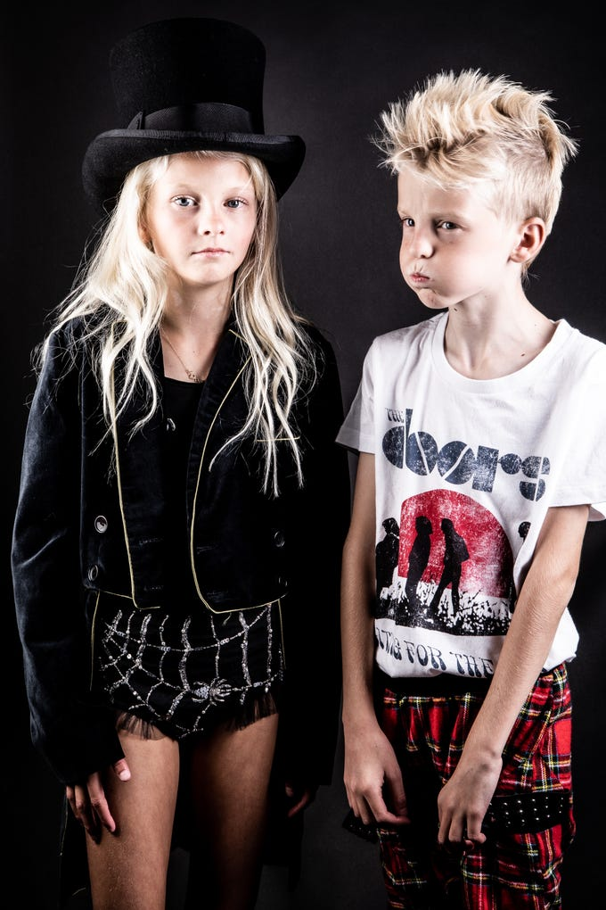 Winter Ellis and her brother, who goes by Vedder Gabriel