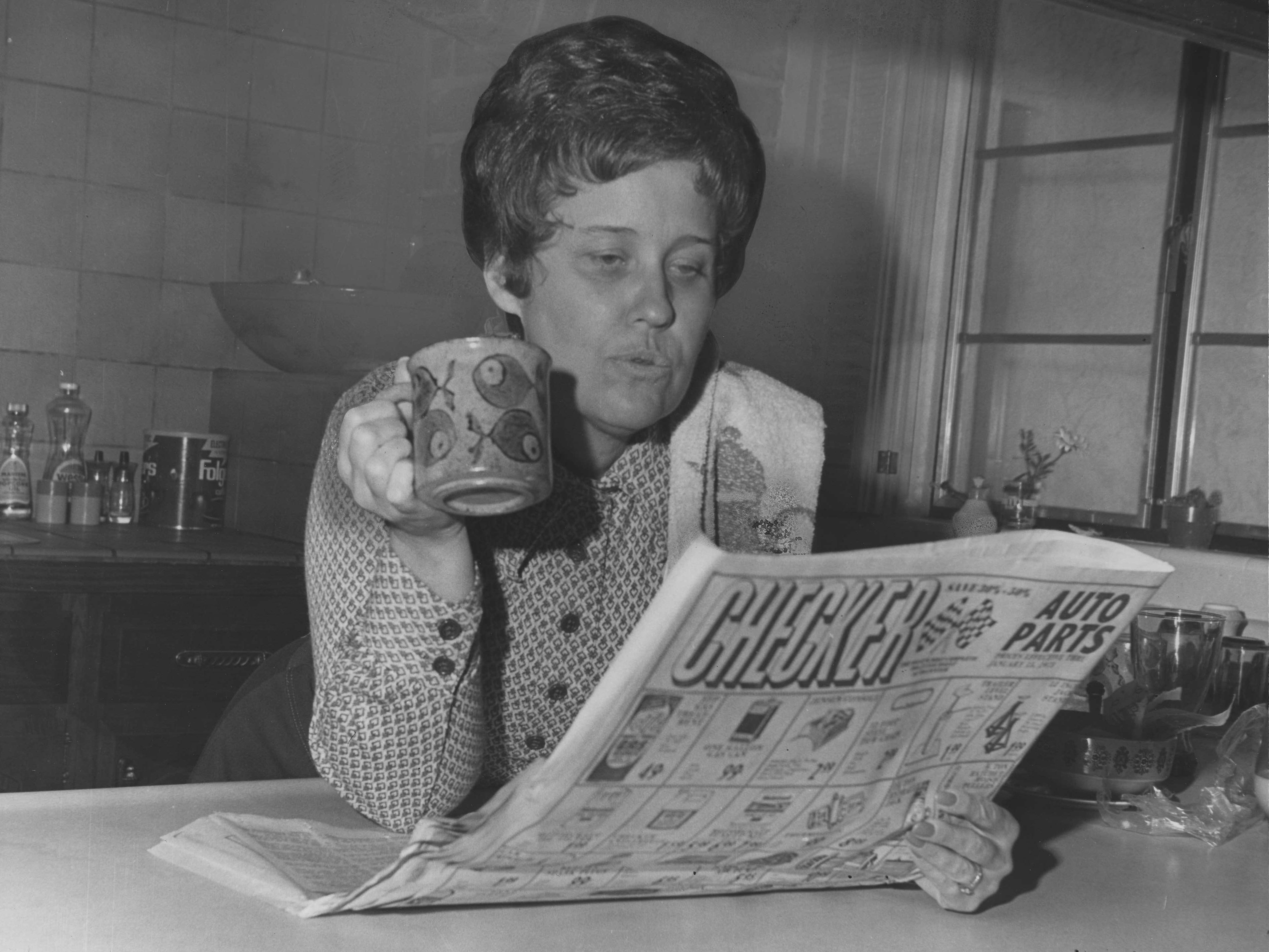 Erma Bombeck in 1973.