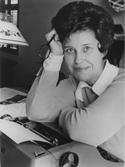 An undated file photo of Erma Bombeck.