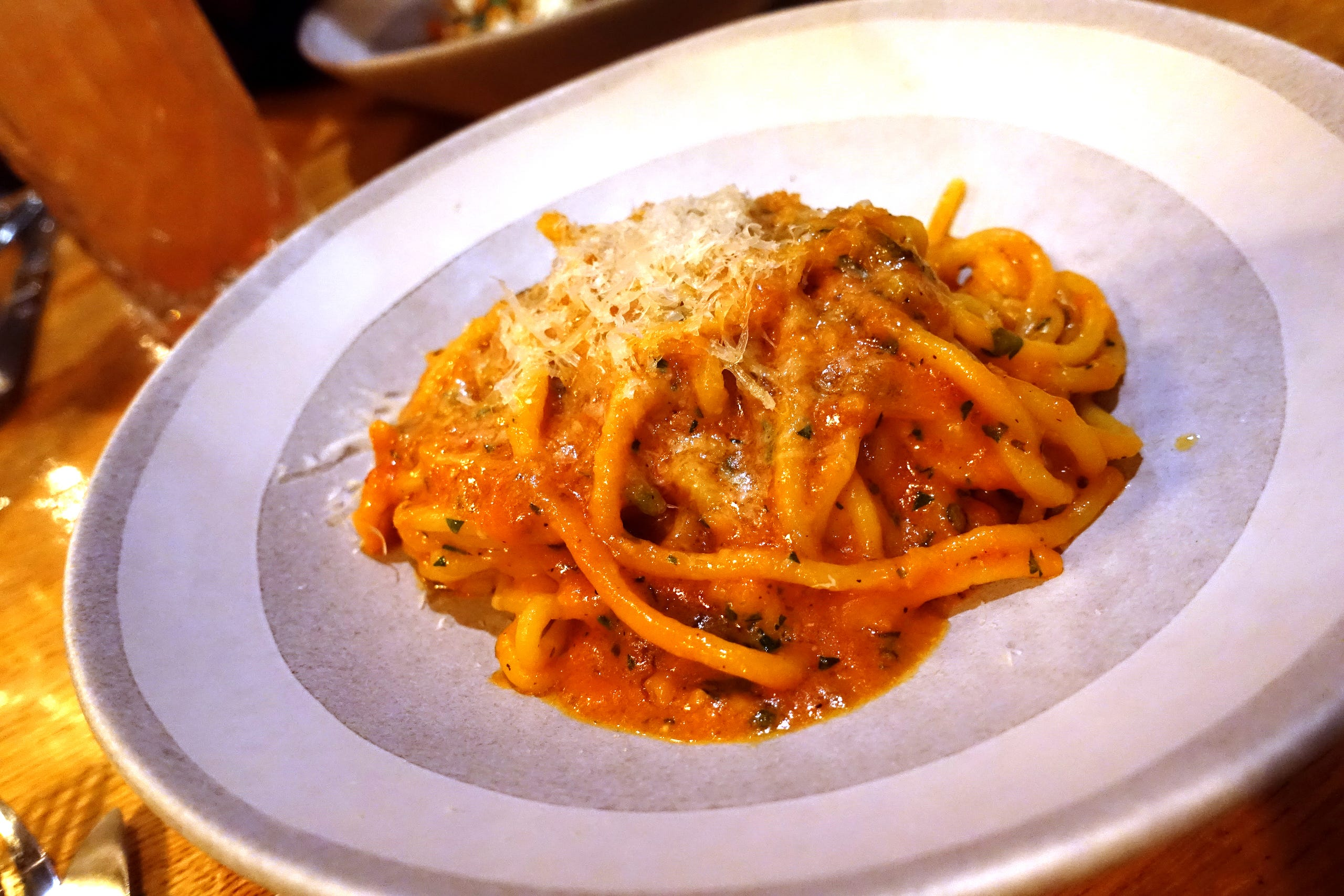 The Food And Ambience Of Parma Italian Roots Restaurant In