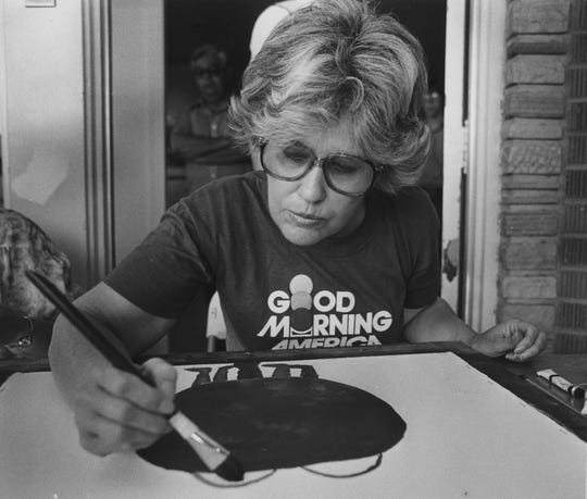 A 1979 file photo of columnist Erma Bombeck.