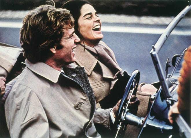 """Ryan O'Neal and Ali MacGraw star in """"Love Story"""" (1970)"""