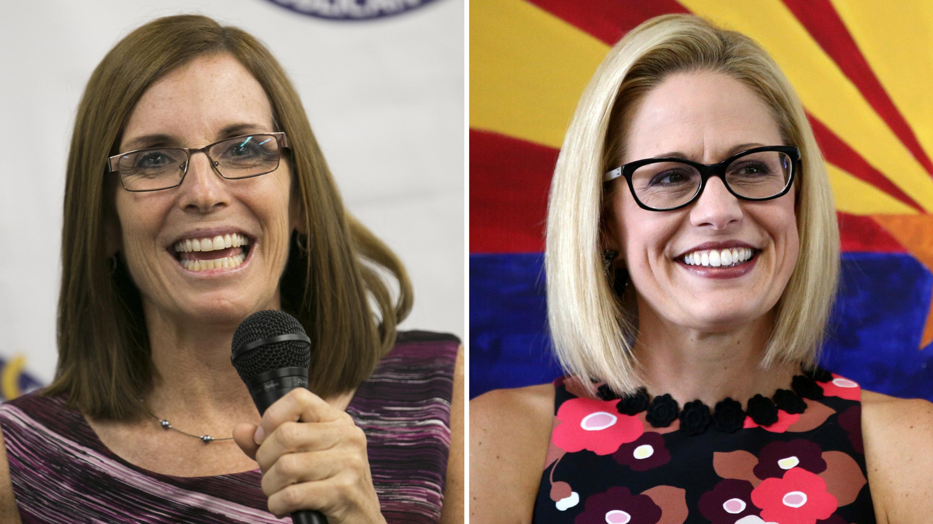 Kyrsten Sinema, Martha McSally herald a new political era for Arizona