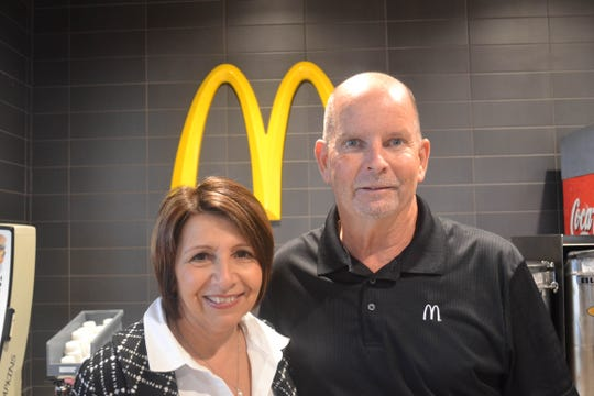 Genoa McDonald's owners Tina and Brian MacKenzie were excited to see so many friends and new faces during the restaurant' packed grand reopening on Wednesday. Brian worked in corporate McDonald's for 35 years and decided to purchase a McDonald's restaurant after he retired. He and Tina also own the Woodville McDonald's.