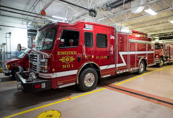 A fire at a home in the 700 block of Cass Street in St. Clair on Sunday, Dec. 15, 2019 caused extensive damage to the home's kitchen.