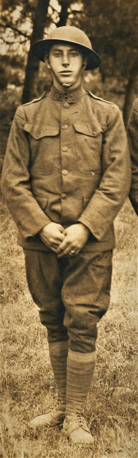 Lawrence E. Funk, a Chambersburg man who served in World War I.