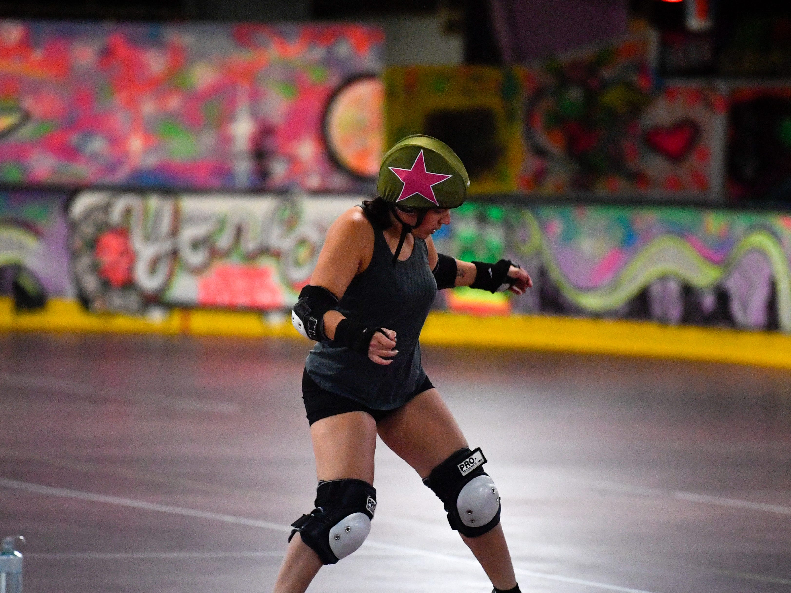The York City Derby Dames go over a variety of drills and scenarios in practice to prepare them for upcoming games.