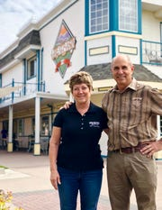 Tom and Bonda Young, owner-operators of Great Basin Brewing Co.