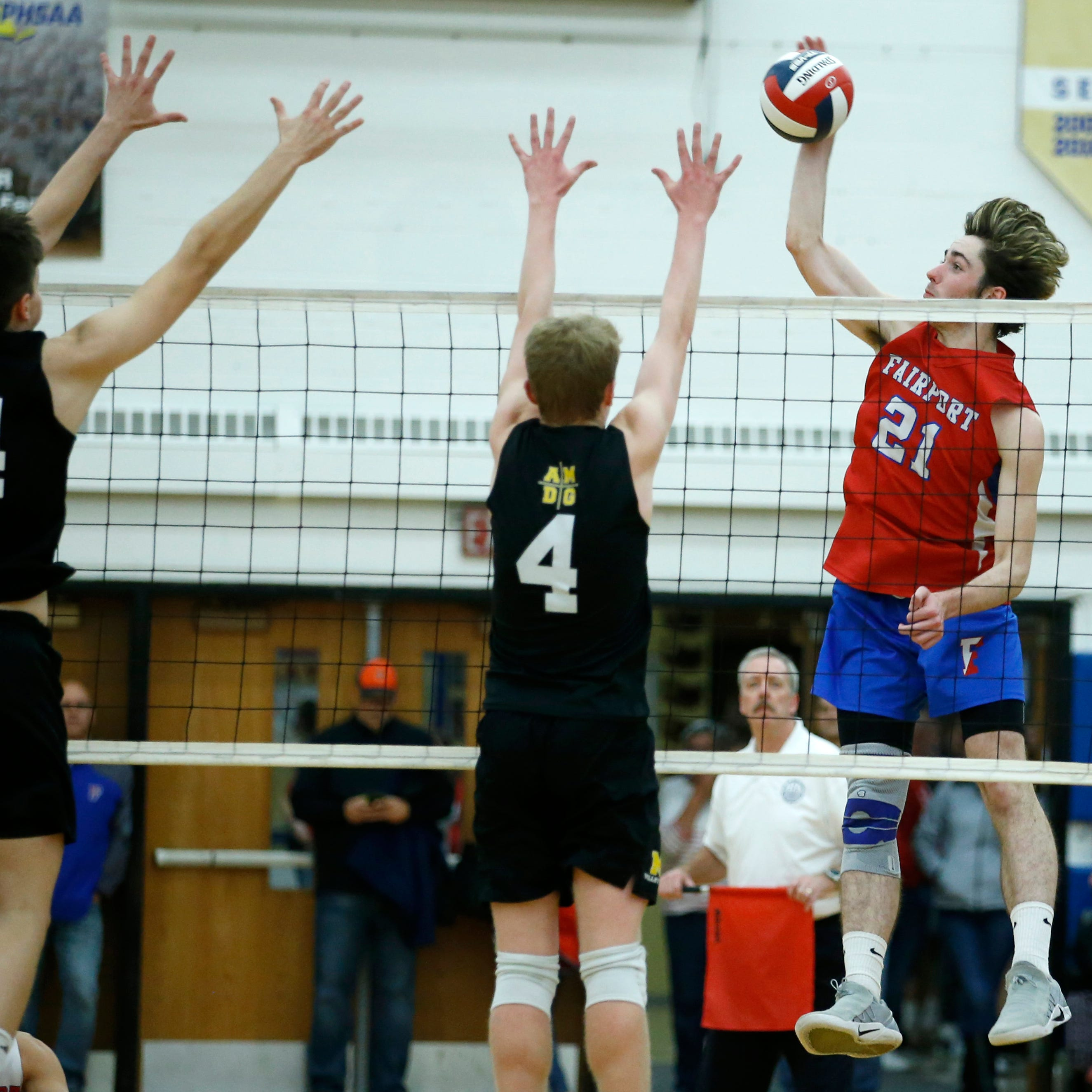 AGR Boys Volleyball Team: These are the best players in Section V
