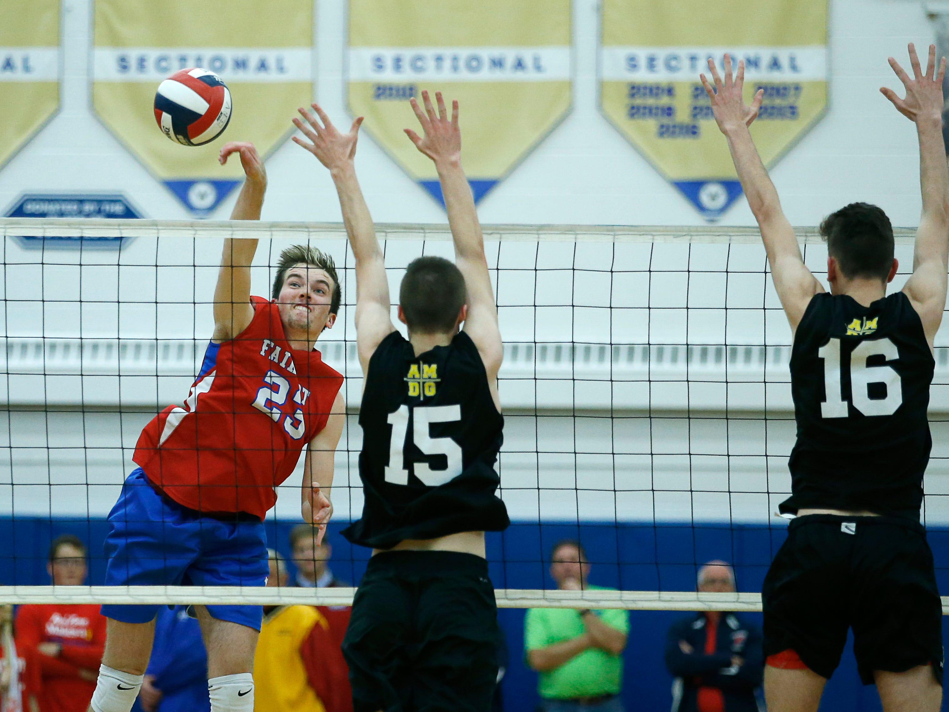 Fairport volleyball continues fairy tale of season at state championships