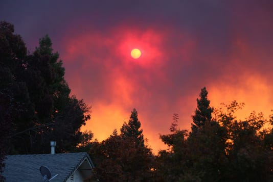 Camp Fire in Butte County