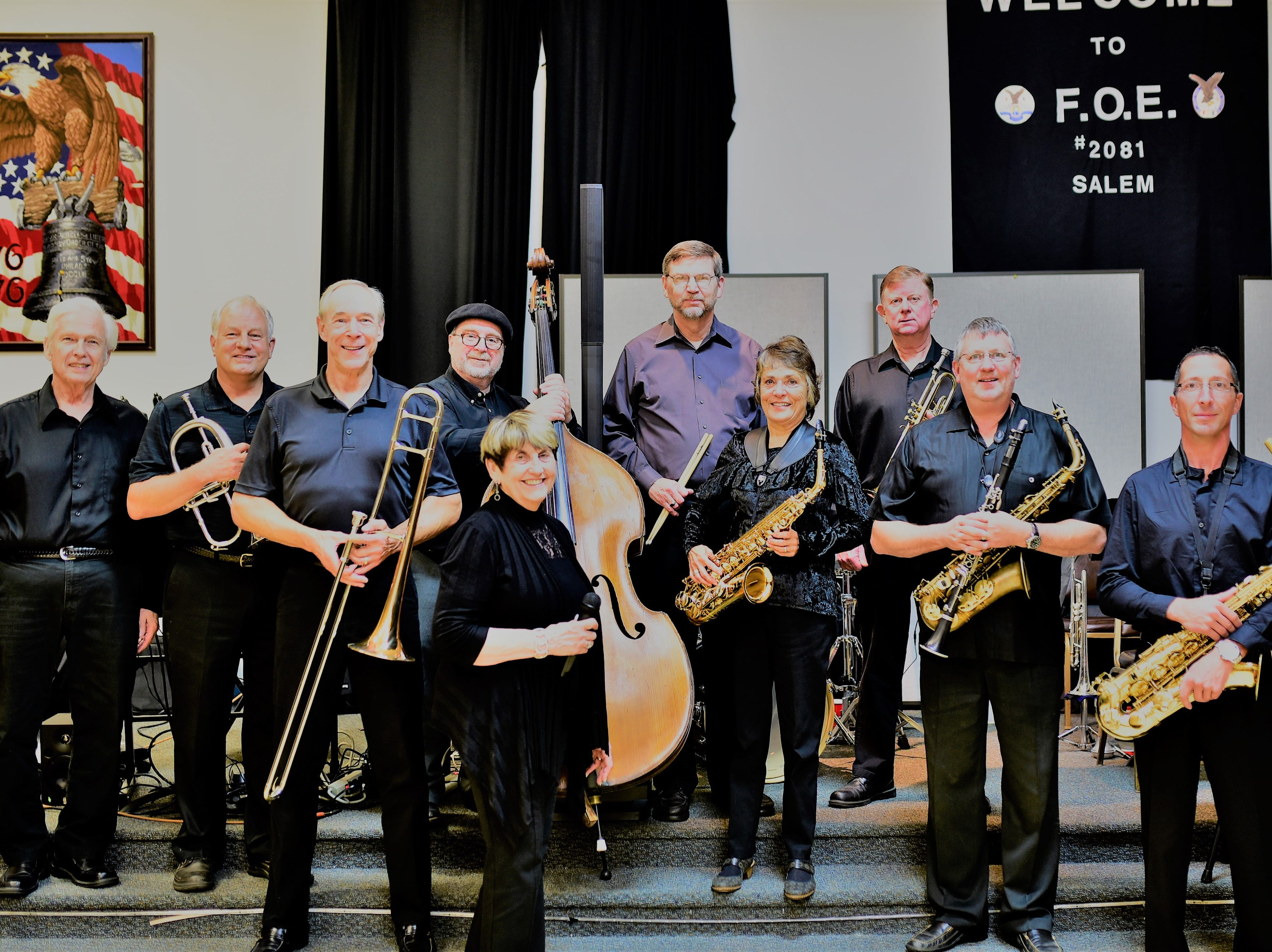 Concert:The Grand Jazz Band will perform at a dance, 7 to 10 p.m. Friday, Nov. 16, Salem Eagles,2771 Pence Loop SE, Salem. $5.