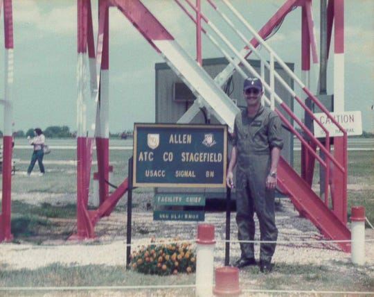 Capt. Mike Colbert served in the U.S. Army in the mid-1980s. During his service, he was deployed overseas to Germany for three years. He currently works in the Ocean City Police Department as commander of the Patrol Division.