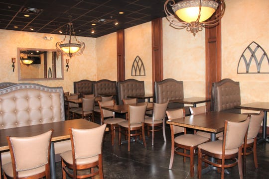 An intimate dining area in Casa Jimador restaurant. The owner prepares to open at the end of the year in the South Highlands neighborhood.