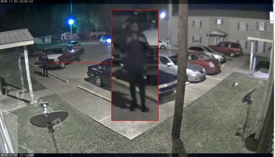 Shreveport police seek the identity of the person seen in this surveillance photo on the night a Domino's delivery driver was shot and killed.