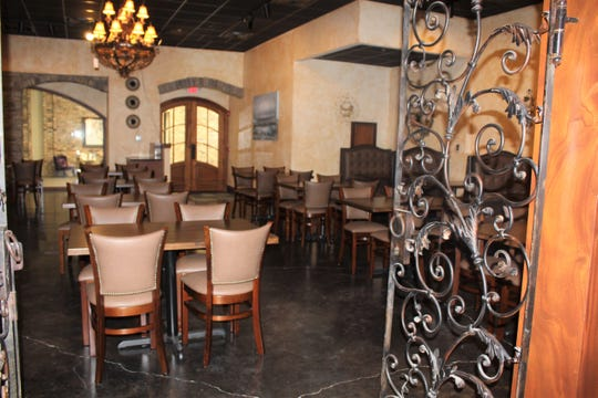 A larger dining area inside the soon-to-open Casa Jimador restaurant on Line Avenue inside Pierremont Mall.