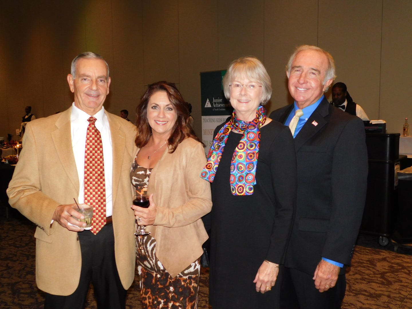2018 Junior Achievement Business Hall of Fame Laureate Induction Dinner was held on Oct. 25, 2018, at the Shreveport Convention Center. William H. Broyles, II, The Broyles Group, Scott P. Sealy, Sr., Sealy & Company, and Craig Spohn, Cyber Innovation Center were inductees.